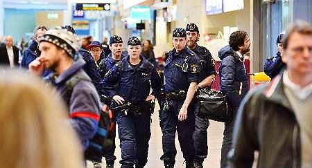 تخلیه هواپیمای مسافری در استکهلم بعد از یک تهدید