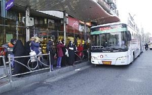 لغو طرح ترافیک مسافران اتوبوس را کم نکرد