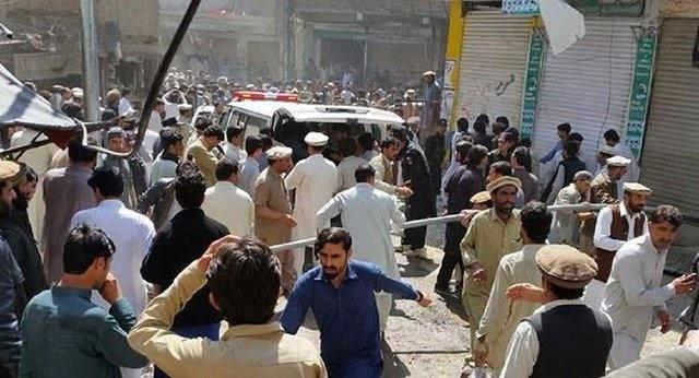 ۲۲ کشته و ۷۰ زخمی در انفجاری در پاکستان | طالبان مسئولیت انفجار را برعهده گرفت