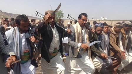 تجدید پیمان قبایل مختلف یمنی با انصارالله درمبارزه با عربستان سعودی