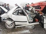 تصادف زنجیرهای ۲۴ دستگاه خودرو درمحور کرج-قزوین | ۷۵ نفر مصدوم شدند