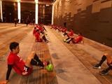 تمرین تیم ملی فوتبال در قطر زیر نظر کیروش