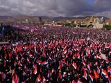 تظاهرات گسترده یمنیها در دومین سالگرد آغاز تجاوز عربستان