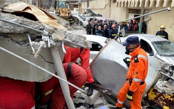 مرگ بیش از ۲۳۰ غیرنظامی عراقی بر اثر حملۀ ائتلاف آمریکا در موصل