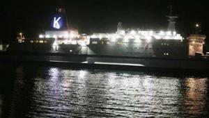 نخستین کشتی کروز وارد آبهای جزیره کیش شد