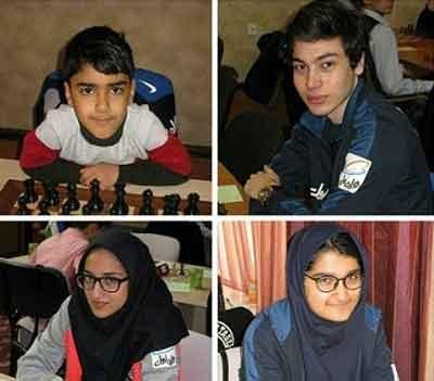 کسب مقام سوم تیمی آسیا توسط شطرنجبازان نوجوان ایرانی
