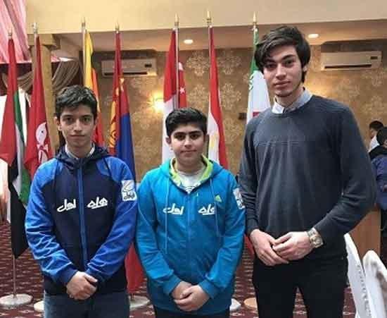 ایران نایب قهرمان بخش برقآسای شطرنج قهرمانی نوجوانان آسیا شد
