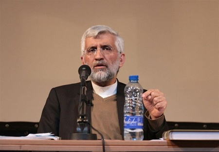 تصاویر | سخنرانی سعید جلیلی برای صندلیهای خالی