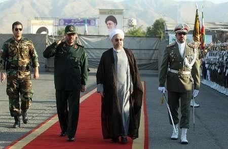دستاوردهای وزارت دفاع با حضور رئیس جمهوری رونمایی شد