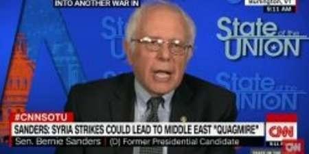 سندرز در مورد ورود ترامپ به جنگ در سوریه هشدار داد