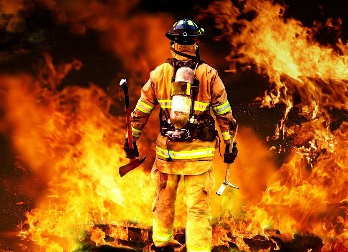 ماسک مخصوص دید در دود برای آتشنشانان