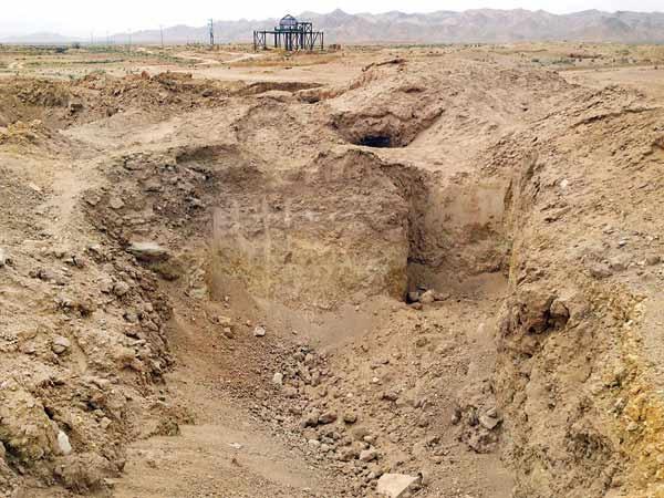 شکایت میراث از شرکت گاز بهدلیل شخم زدن محوطه باستانی