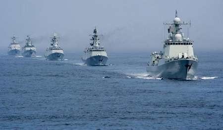 رزمایش ناوگان روسیه در دریای خزر آغاز شد