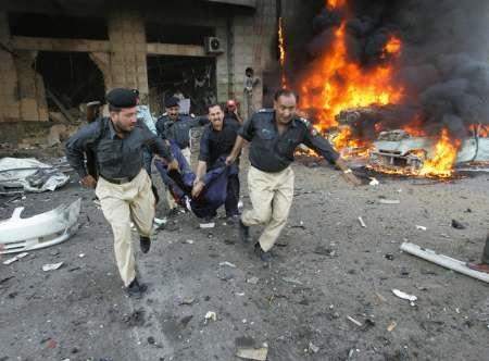 انفجار تروریستی در پاکستان ۱۰ کشته برجای گذاشت