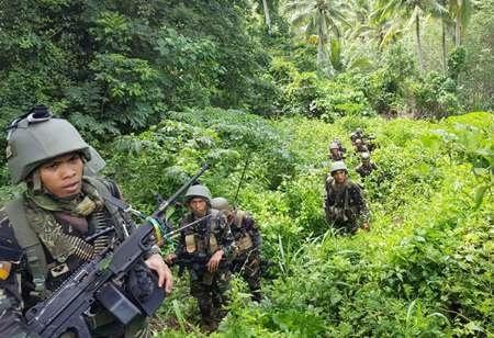 هلاکت ۳۶ تروریست وابسته به داعش در فیلیپین