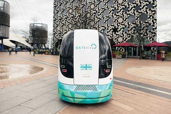 سفرهای شهری با اتوبوسِ بی راننده!