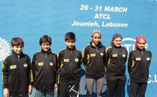 تنیس پیش مقدماتی جهانی: پسران ایران قهرمان و دختران نایب قهرمان شدند