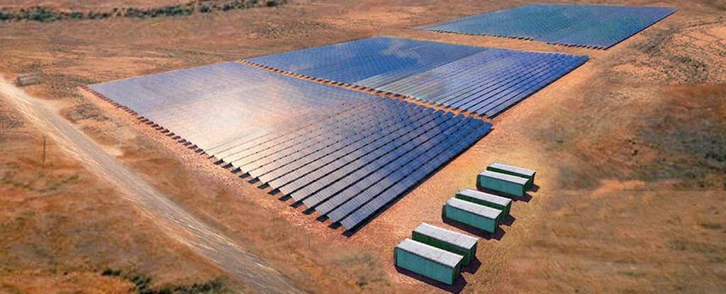 راهاندازی بزرگترین نیروگاه خورشیدی جهان در جنوب استرالیا