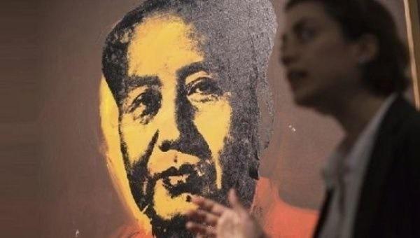 حراج پرتره ۱۲ میلیون دلاری مائو در چین