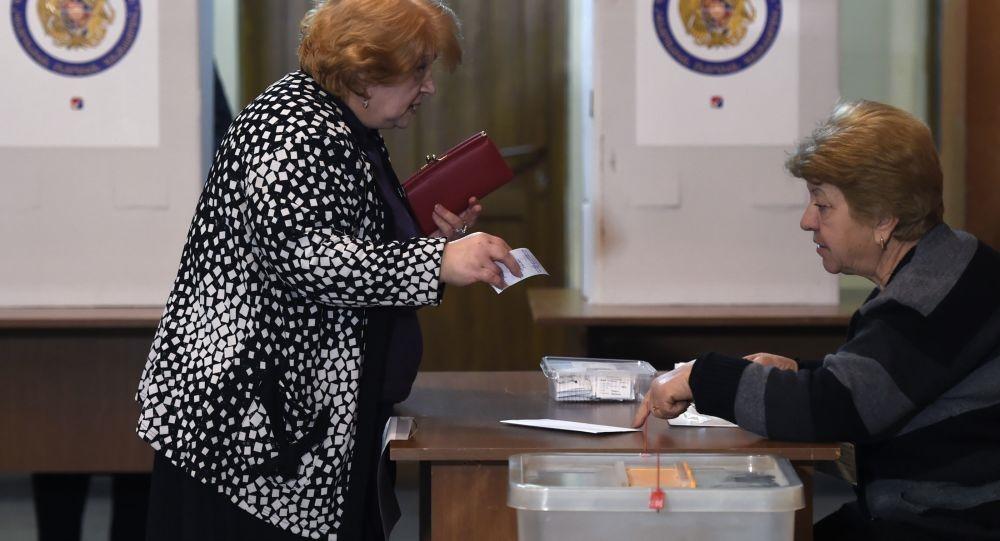 پیروزی حزب حاکم جمهوریخواه در انتخابات پارلمانی ارمنستان