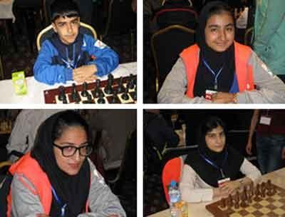 کسب دو مدال طلا و دو برنز شطرنجبازان ایران در مسابقات سریع قهرمانی آسیا