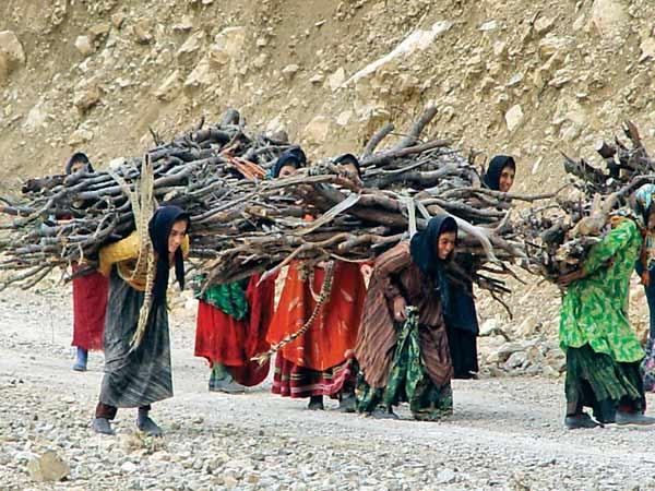 زنان روستا- کار