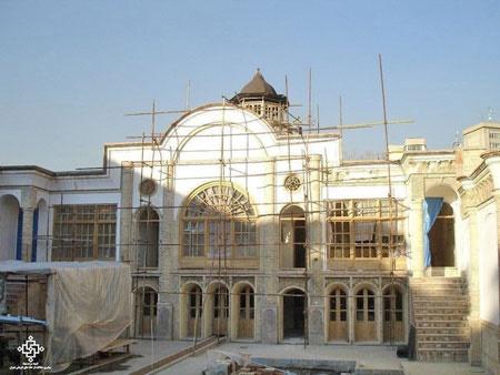 عمارت تاریخی ناصرالدین میرزا مرمت شد