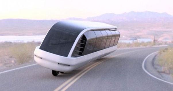 نخستین موتورسیکلت- اتوبوس دنیا طراحی شد