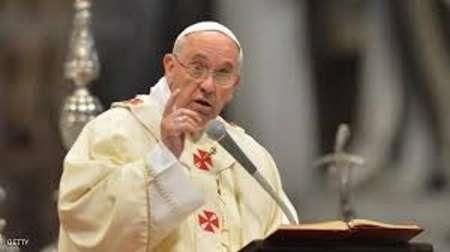رهبر کاتولیکهای جهان انفجارهای مصر را محکوم کرد