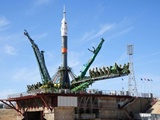 موشک سایوز به فضا پرتاب شد