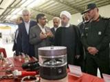 روحانی در شیراز از ۱۲ محصول جدید دفاعی رونمایی کرد