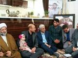 دیدار قالیباف با خانواده شهید بلباسی