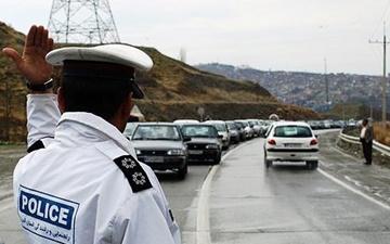 ترافیک پرحجم آزاد راه کرج ـ تهران؛ بارش باران در جادههای غربی کشور