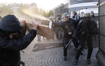 تظاهرات گسترده در فرانسه