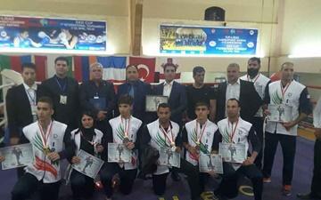 کیک بوکسینگ بینالمللی کارگران جهان/ ملیپوشان کشورمان نایب قهرمان شدند