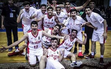 تیم ملی ایران قهرمان مسابقات بسکتبال نوجوانان غرب آسیا شد