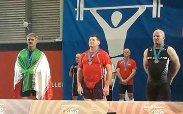 المپیک پیشکسوتان/ نیوزیلند؛ بهروزی در وزنهبرداری نقره گرفت