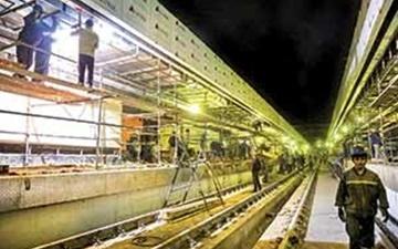 مترو؛ نماد تولید و اشتغال در پایتخت