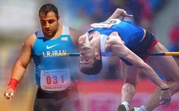 دو مدال برای نمانیدگان ایران در پایان دور اول دو و میدانی جایزه بزرگ آسیا