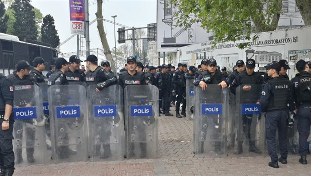 صدها نفر در جریان تظاهرات روز کارگر در استانبول دستگیر شدند