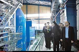 ۲۰ بهمن ۹۳ افتتاح نخستین زباله سوز کشور در جنوب تهران  با حضور رئیس سازمان محیط زیست