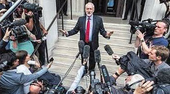 حمایت گسترده رای دهندگان انگلیسی از طرح های چپ گرایانه حزب کارگر انگلیس