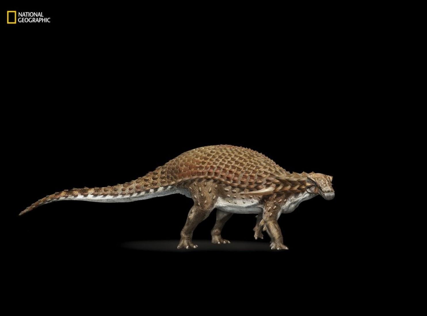 عکس روز: مجسمه یک دایناسور واقعی
