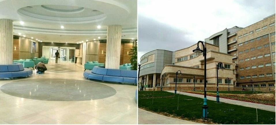 بیمارستان ۳۲۰ تختخوابی امام حسن بجنورد افتتاح شد