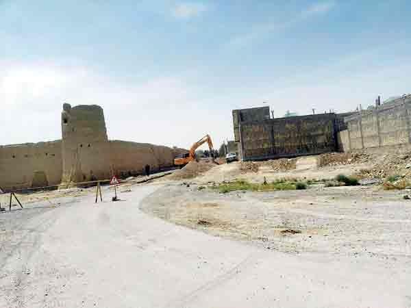 تهدید شهر تاریخی ابرکوه با پروژههای عمرانی