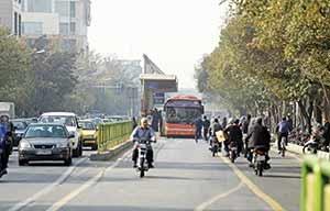 تنها ۲۰۰ موتورسیکلت پایتخت معاینه فنی دارند