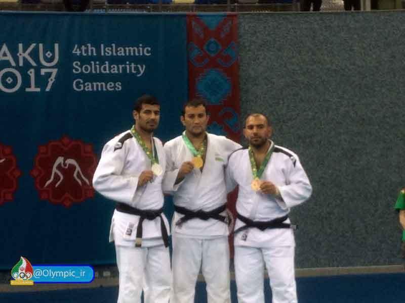 مدال نقره جودوی نابینایان و کمبینایان بازیهای کشورهای اسلامی بر گردن شنانی