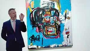 ۱۱۰ میلیون دلار برای جمجمه هنرمند فقید