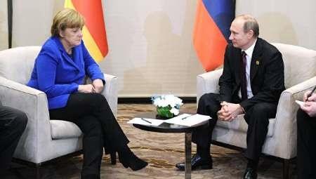 دیدار مرکل و پوتین در اوج اختلافهای روسیه و اروپا