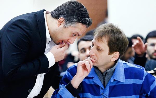 حضور بابک زنجانی در دادگاه دو متهم دیگر